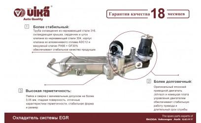 Клапан EGR от VIKA