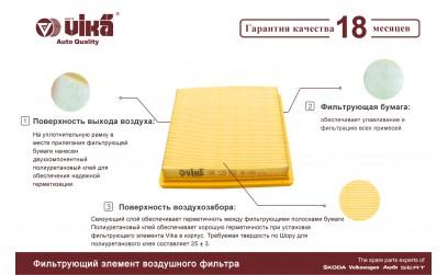 Воздушные фильтры VIKA - air filter