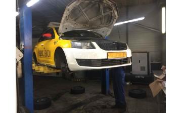 Тормозные колодки VIKA на автомобилях такси