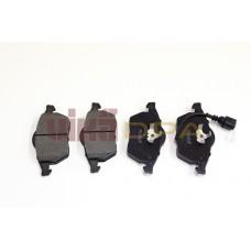 колодки тормозные передние с датчиком (диск288х25)