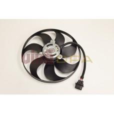 двигатель вентилятора радиатора (250/60w, 345 мм)