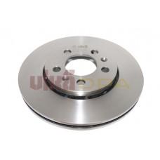 диск тормозной передний (256х22)