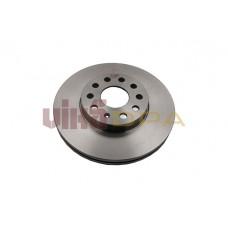 диск тормозной передний (288х25)