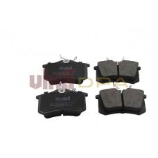 колодки тормозные задние (диск 255х10)